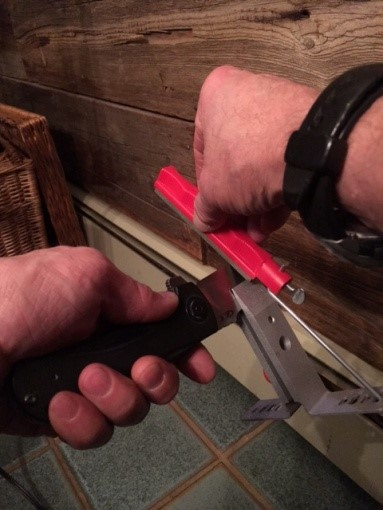 The Lansky Sharpening System story from a Navy SEAL