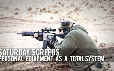 Saturday Screeds: Personal Equipment as a Total System