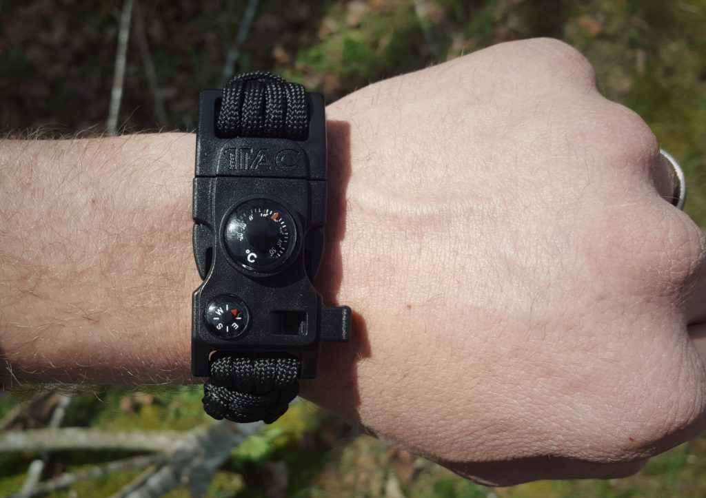 1Tac Paracord Survival Bracelet and Keychain Review