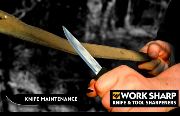 Knife Maintenance Month: Stropping