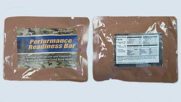 Army develops new nutritional bed-time snack bar for basic trainees
