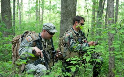 Land Navigation Practical Exercise – Resection