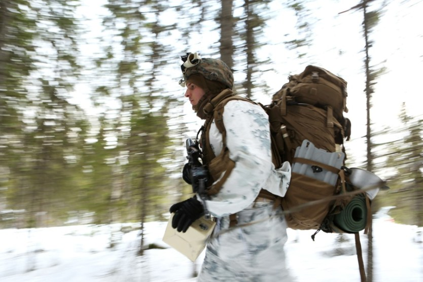 Marine Corps packs are failing in the Arctic