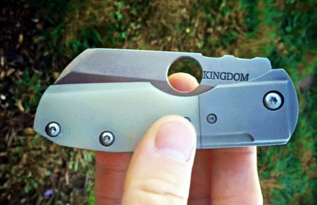 Kingdom Armory Rook Optimizes Opening Hole for Spydie Flick