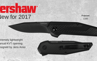 The NEW Kershaw Fraxion is quick and ready
