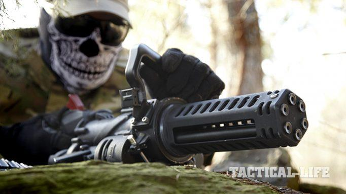 Micro Madness: Unleash Hell with Empty Shell's XM556 Microgun
