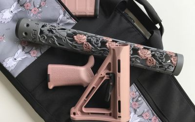 OffHand Gear Takes AR-15 Accessories to Another Level with New Chameleon Handguard Finishes and Matching Furniture Sets