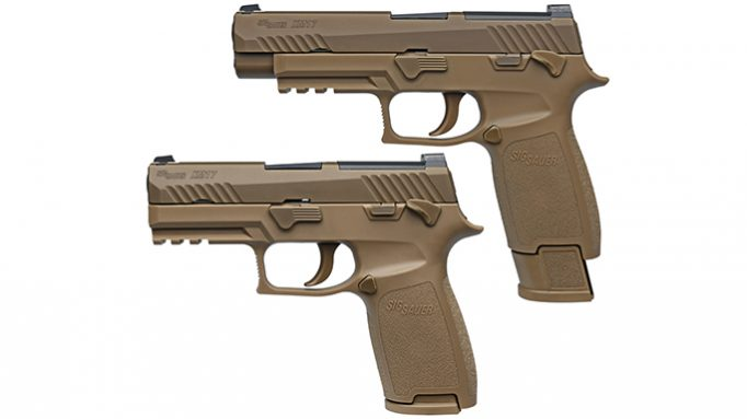 US Army Selects First Troops to Field Sig Sauer P320 Pistol