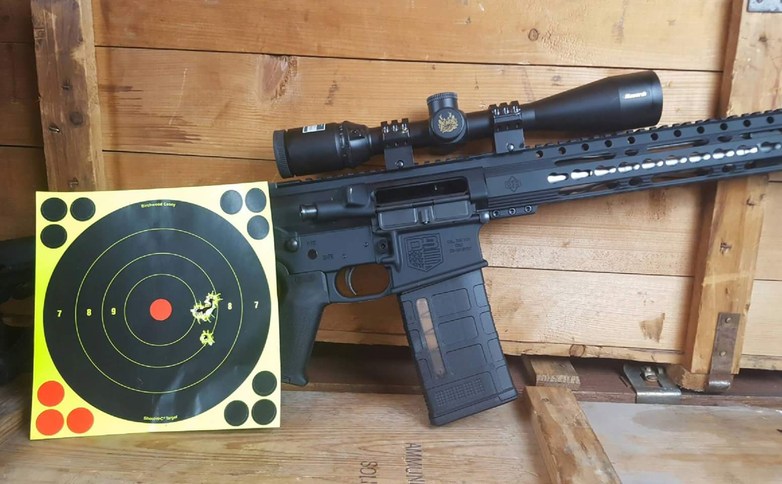 Sub-Minute of Angle AR-10 for Under a Grand? Diamondback