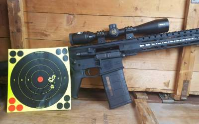 Sub-Minute of Angle .308 AR for Under a Grand? Diamondback Firearms