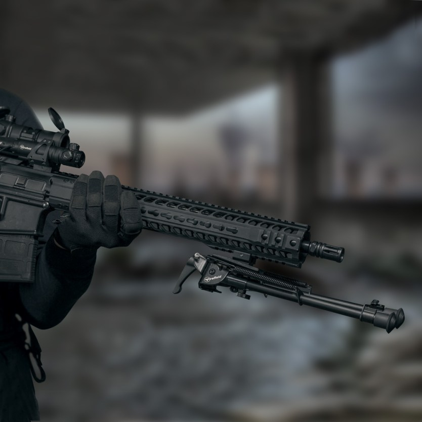 Keep your aim rock-solid with Firefield Stronghold Bipods!