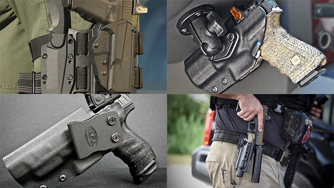 Rockin' Reflexes: 13 Holsters for Handguns Topped with Red Dot Sights