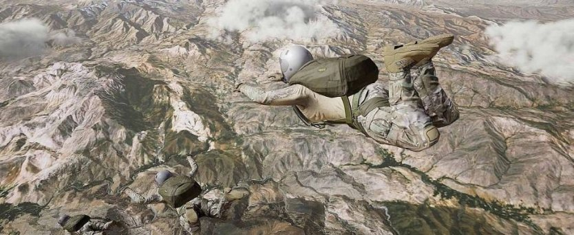 Sony VR (Virtual Reality) Launches Air Force Special Ops Nightfall