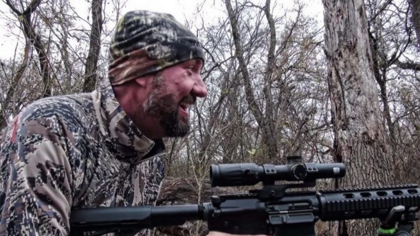 Hog Hunting in Texas with EOTech