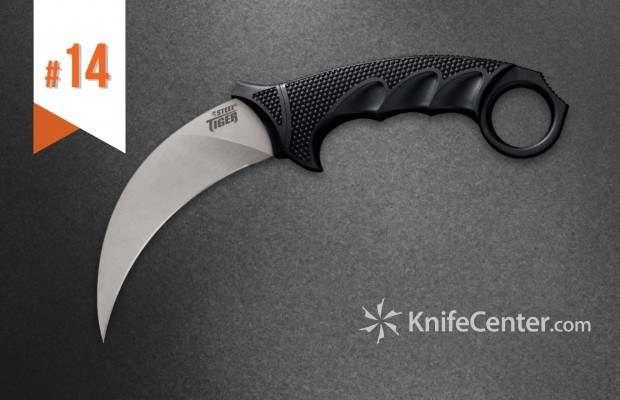 Top 25 Best Selling Blades of 2017: #14 Cold Steel Knives Steel Tiger Karambit