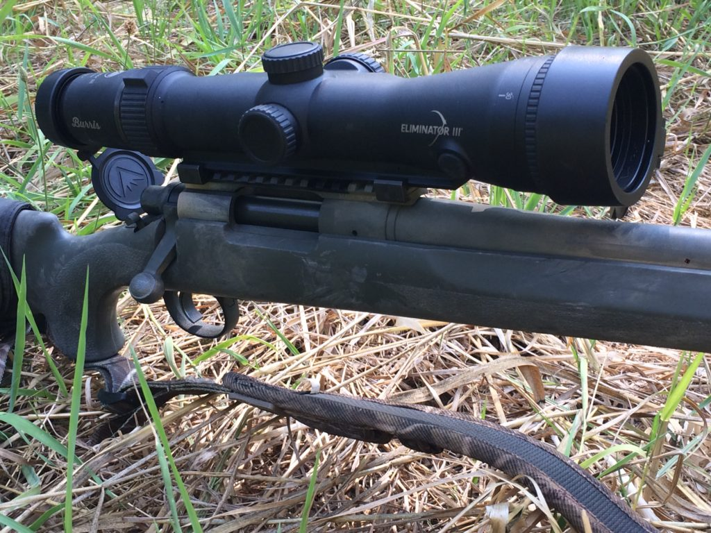 Burris Eliminator III | Rifle scope, rangefinder and ballistics in one package