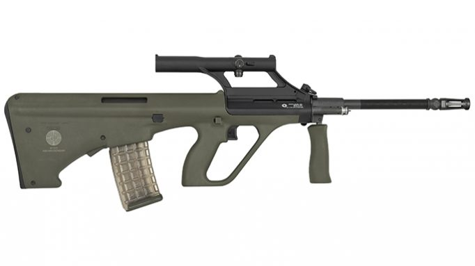 Steyr Celebrates 40th Anniversary of the AUG with the New STG 77