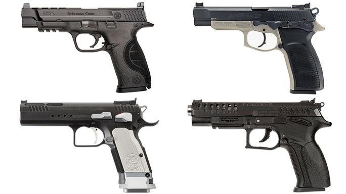 9 Competition Pistol Models Ready for the Firing Line