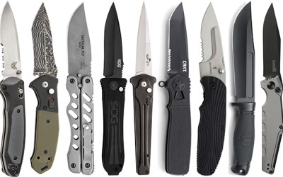 These 31 New Tactical Knives Are Built for Hard Use