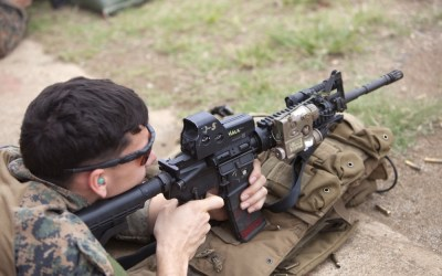 Loadout Room photo of the day   Maintaining marksmanship: Force Recon Marines fire away