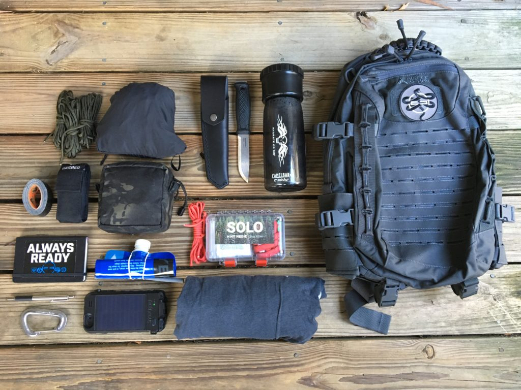 Key items to include in your go-bag