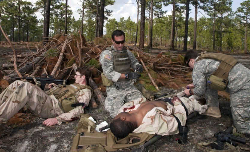 Loadout Room photo of the day | Special Warfare Medical Group (Airborne) trains special-operations combat medics