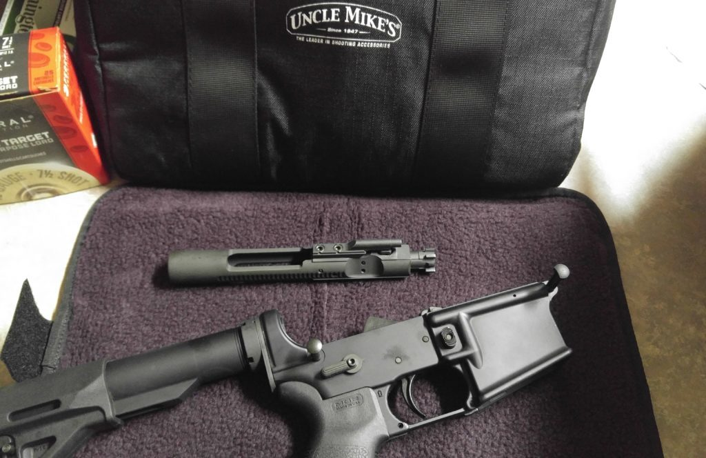 Uncle Mike's range bag: Compact quality