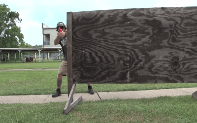 Watch: How to properly work a barricade