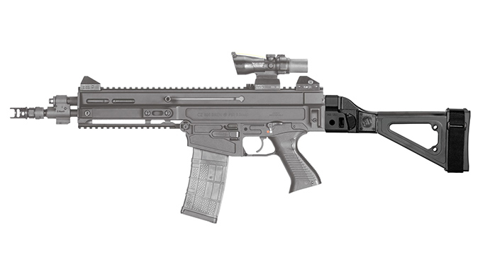 SB Tactical Releases Side-Folding Brace for the CZ 805 Bren S1