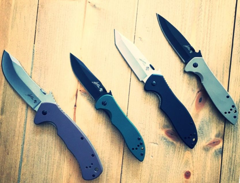 Kershaw EDC review of the Emerson designed CQC knife line