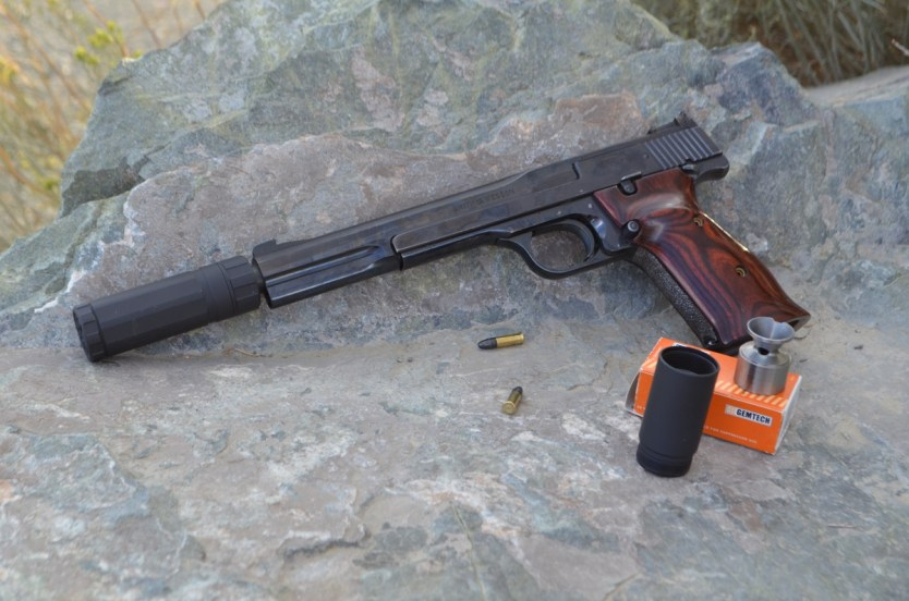 AAC Halcyon – Two Rim Fire Silencers in One