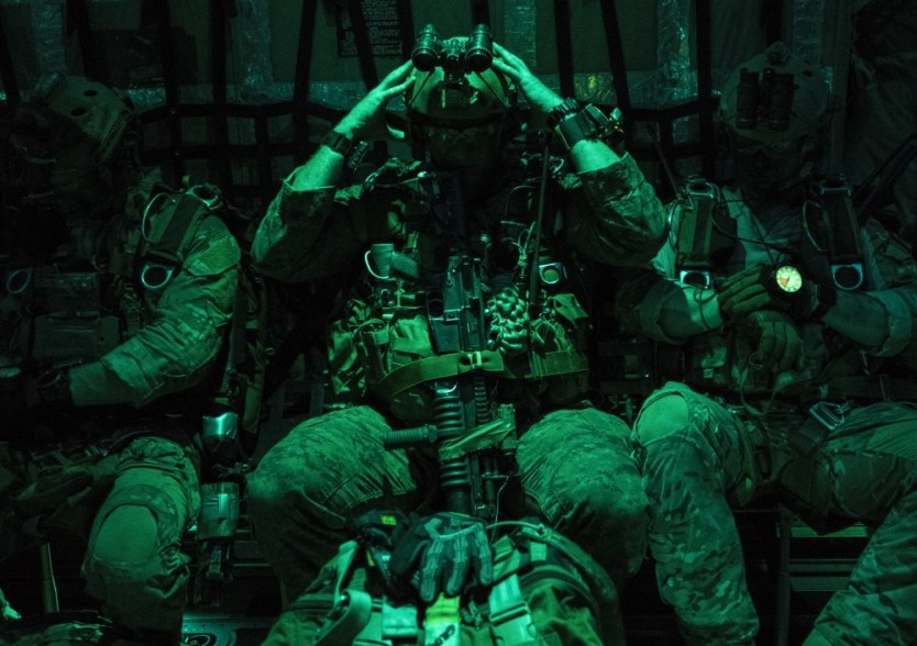 Loadout Room photo of the day   Joint HAHO jumps at Talisman Saber 2017