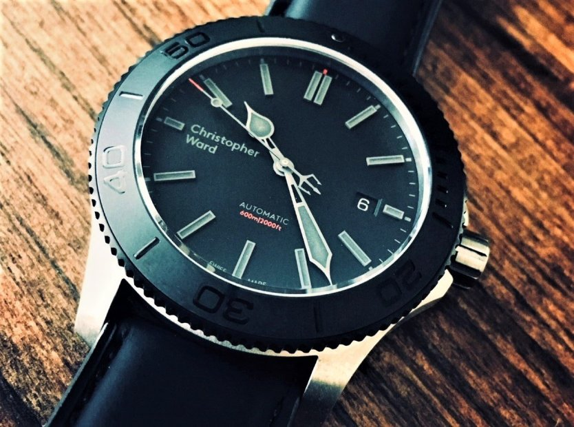 Christopher Ward C60 Trident Titanium Pro 600 dive watch review