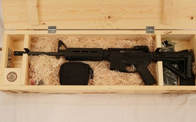 Boxful of Badass: The Fort Discovery Expedition Rifle