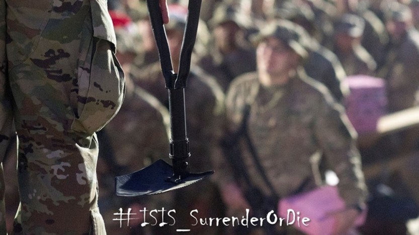 Top Military Advisor: Joint Forces Will Beat ISIS to Death with Entrenching Tools