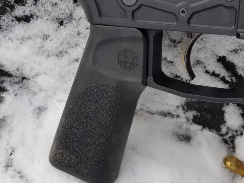 Hogue 15-degree AR-15 grip | Ultralight and on point