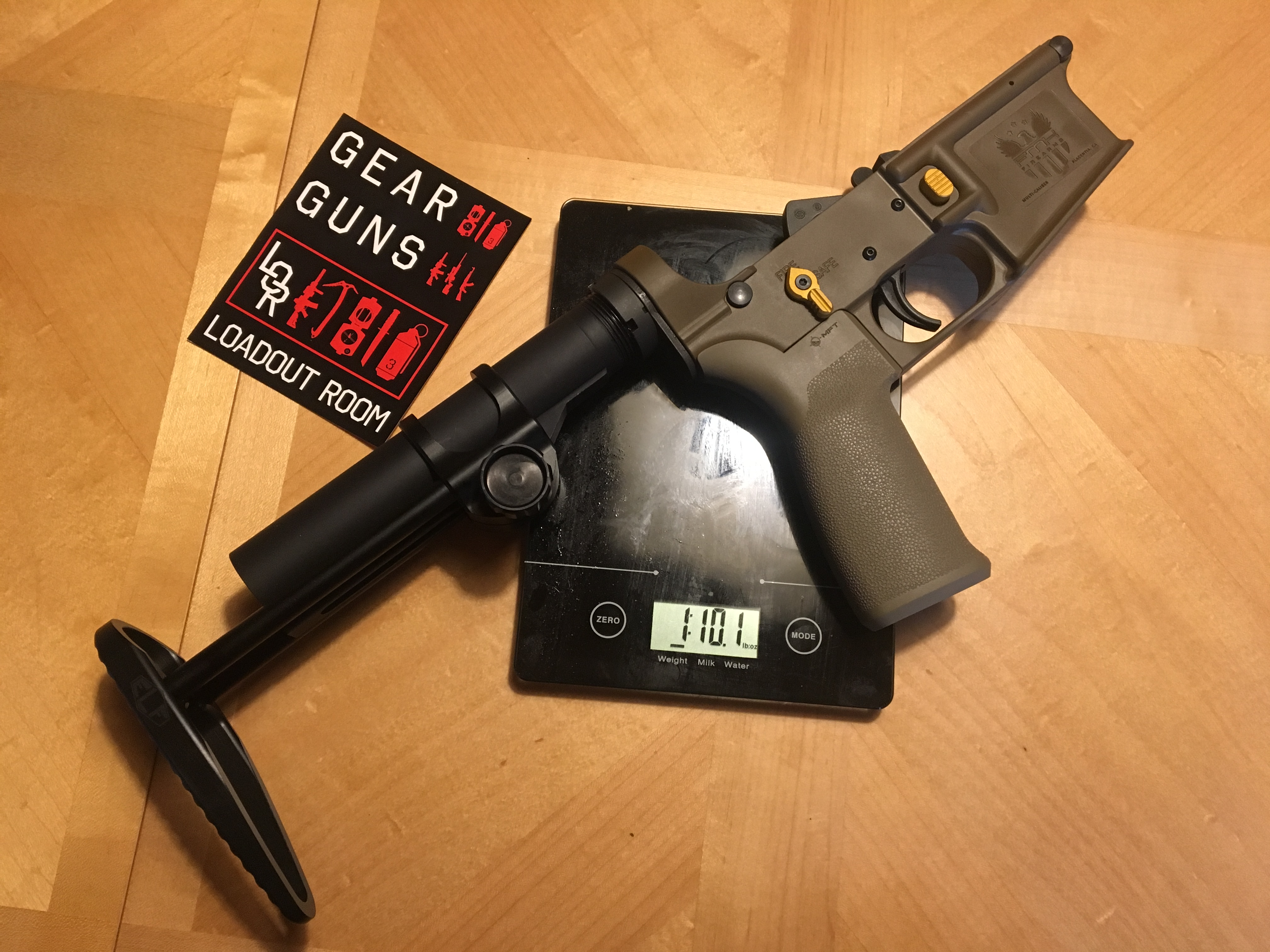Building the FMK AR1 eXtreme: 1 lb 10 oz Complete AR Lower