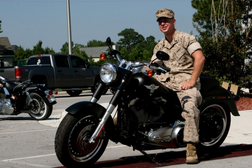 Loadout Room photo of the day: MARSOC Marine wins Harley Davidson