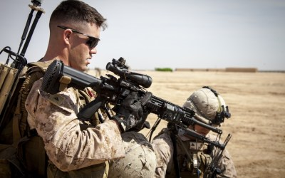 Loadout Room photo of the day: Echo 2/9 Marines hone skills on Camp Bastion, Afghanistan