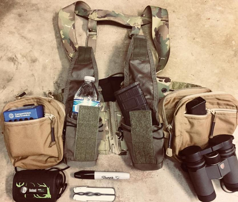 Loadout Room photo of the day: Cold weather shooting chest rig