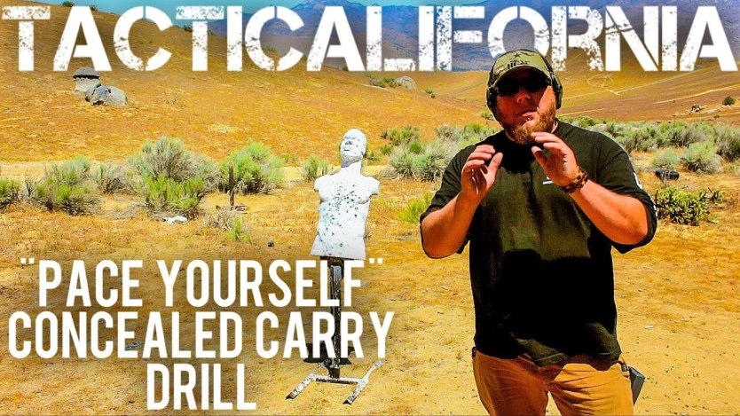 Pace Yourself | An excellent CCW shooting drill
