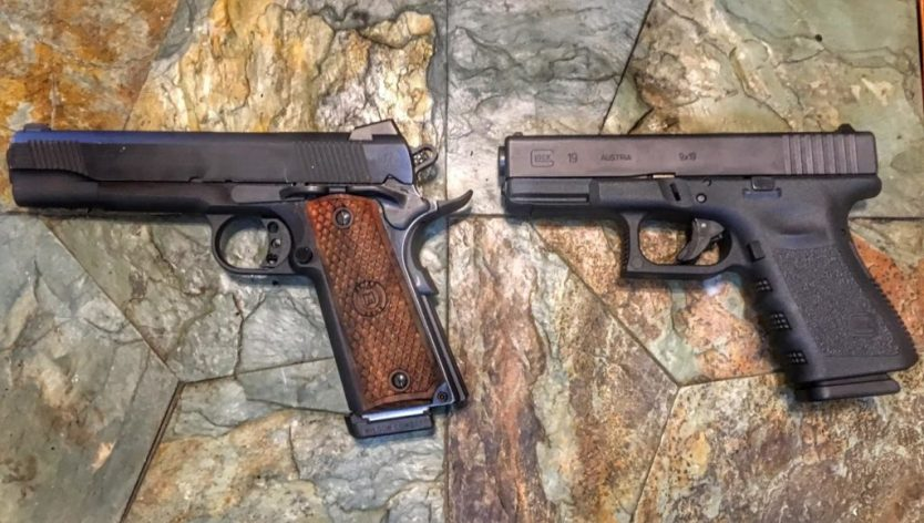 $500 challenge: Which is a better real-life carry piece for those on a budget, Glock or 1911?