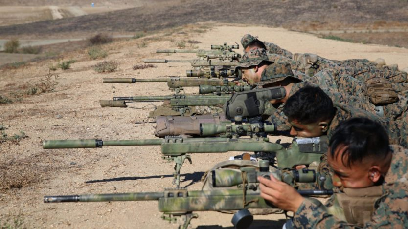 Watch: The First 2 Weeks of U.S. Marine Corps Scout Sniper Training