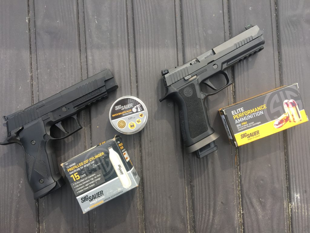 SIG's X-Five Advanced Sport Pellet Air Pistol: Bring Training Home