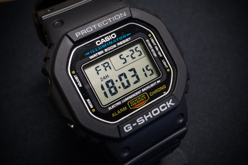 Casio G-Shock DW5600E-1V: The perfect watch for duty or adventure