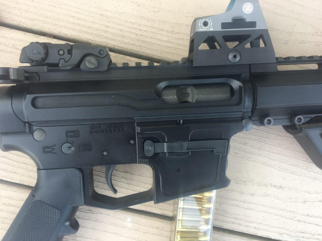 New Frontier Armory 9mm AR Pistol Build: A Hand Full of