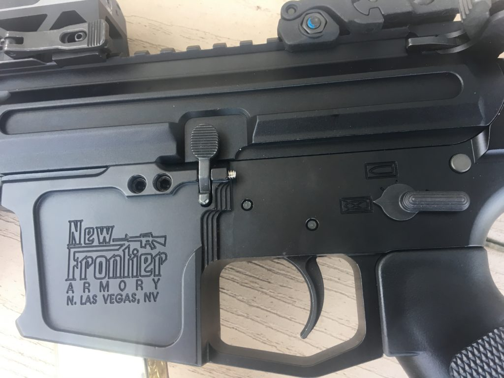 New Frontier Armory 9mm AR Pistol Build: A Hand Full of Heaven | The