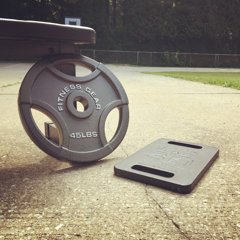 Workout Wednesday: 45lb plate routine, prepare your body for the X
