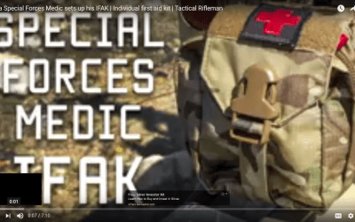 How a Special Forces Medic sets up his IFAK (Individual First Aid Kit)