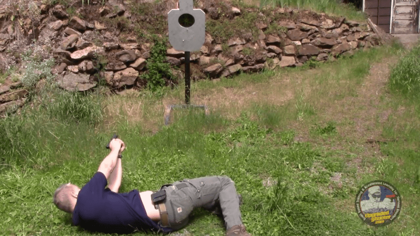 Shooting From Your Back: The 3 Legged Tabletop Drill